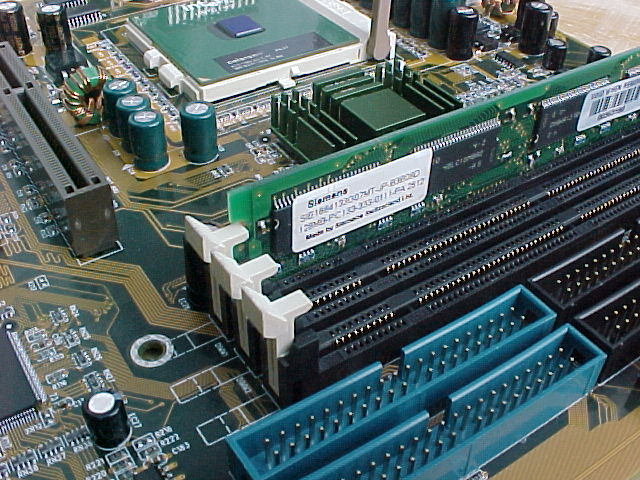 Securing the DIMM