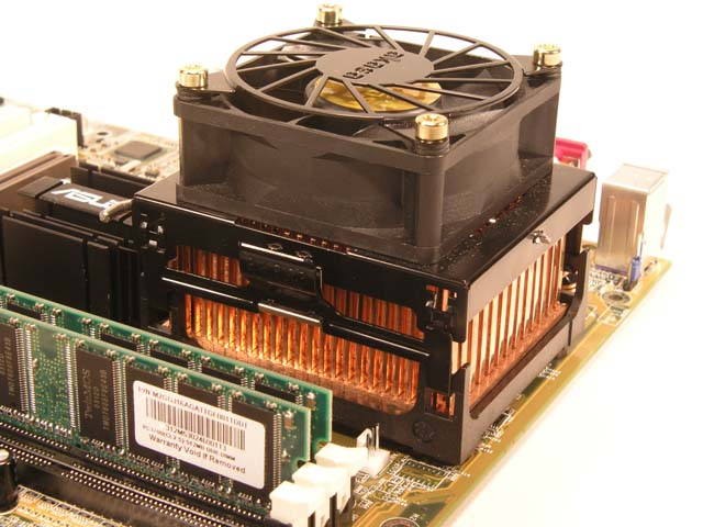 Akasa copper heatsink