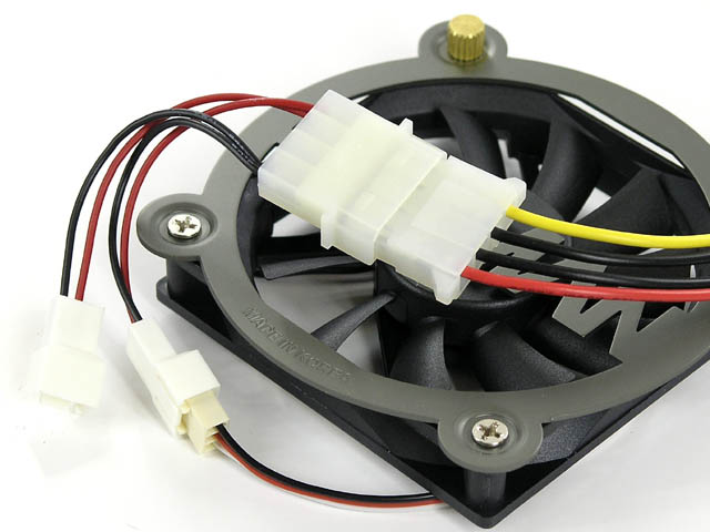 7-volts fan modification