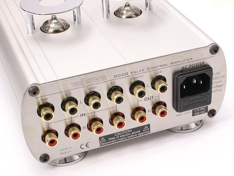 Back K8020 preamplifier