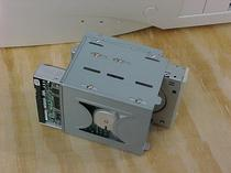 Floppy drive and harddisk cage