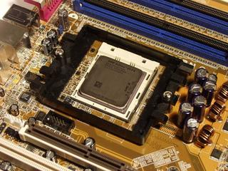 Asus SK8N motherboard with Athlon 64 FX