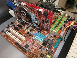 Abit 925 chipset motherboard