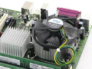 Stock Intel top view
