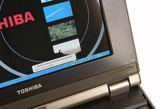 Toshiba Libretto screen